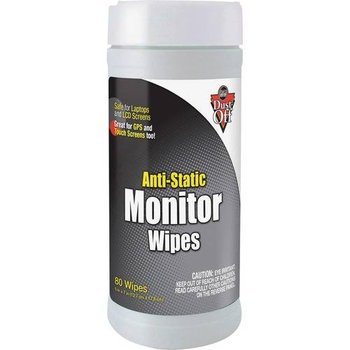 Dust-Off Anti-Static Monitor Wipes (EA/EACH)