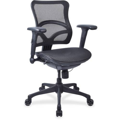 Lorell Full Mesh Mid-back Chair (EA/EACH)