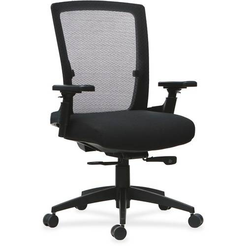 Lorell 3D Rotation Armrests Mid-back Chair (EA/EACH)