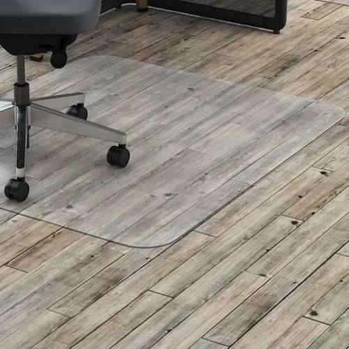 Lorell Hard Floor Rectangler Polycarbonate Chairmat (EA/EACH)