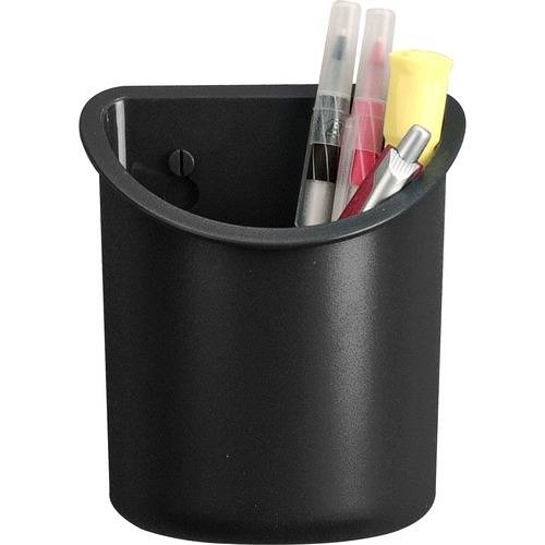 Lorell Recycled Plastic Mounting Pencil Cup (EA/EACH)