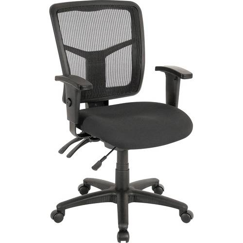 Lorell ErgoMesh Series Managerial Mid-Back Chair (EA/EACH)