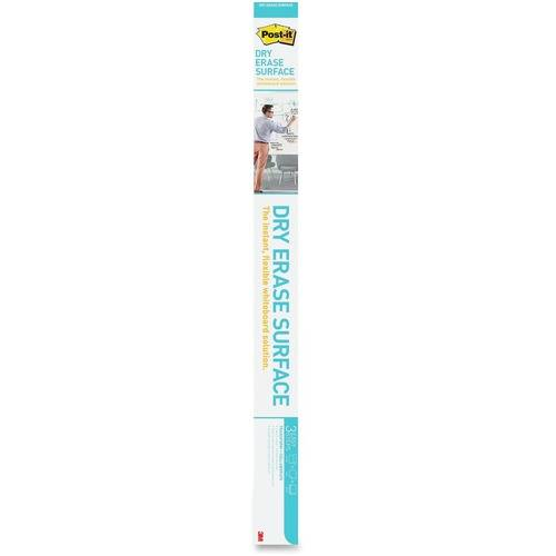Post-it Self-Stick Dry Erase Film Surface, 48 x 36, White (PK/PACKAGE)