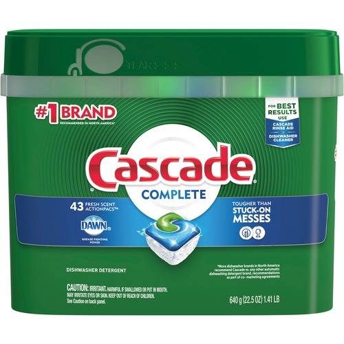 Cascade Complete Dishwasher Packs (PK/PACKAGE)