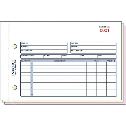 Rediform Carbonless Invoices (EA/EACH)
