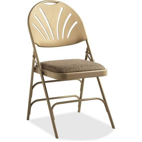 Samsonite XL Fanback Steel & Fabric Folding Chair (Case/4) (CA/CASE)