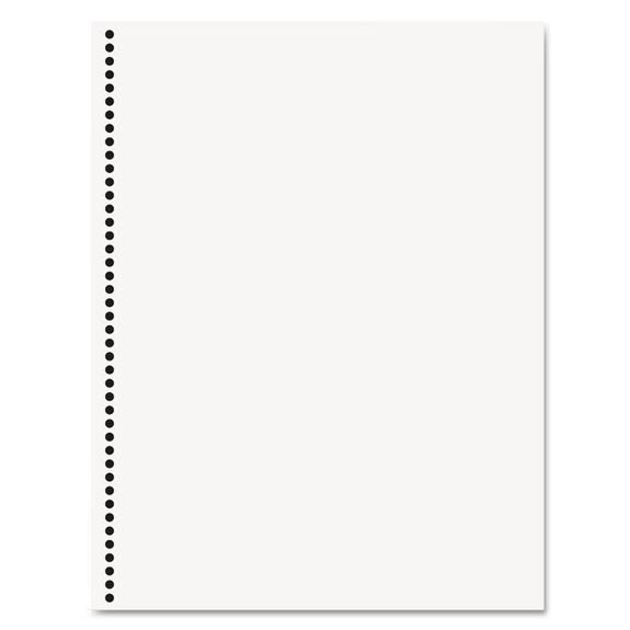 Office Paper, Gbc 44-Hole Punched, 8 1/2 X 11, 20-Lb, 500/ream