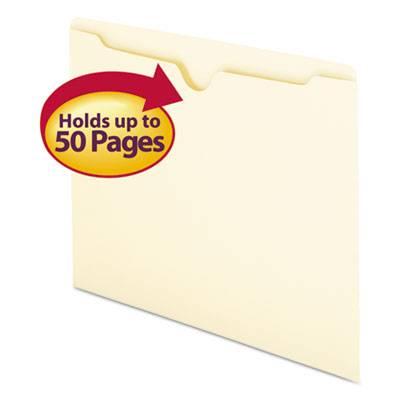 Manila File Jackets, Letter, 11 Point, Manila, 100/box