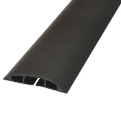 "Light Duty Floor Cable Cover, 72"" X 2.5"" X 0.5"", Black"