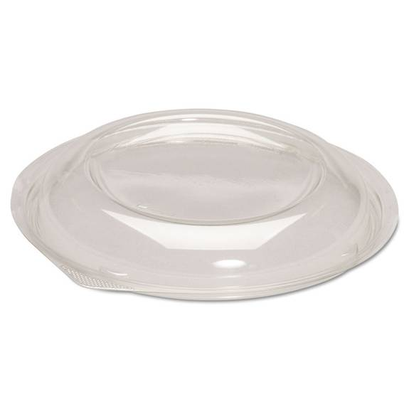Dome Lids For Silhouette Plastic Bowls, Clear, F/24/32oz Bowls, 200/carton