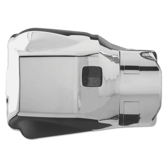 Auto Flush Clamp Urinal Flushing System, Polished Chrome, 3.6w X 5.3d X 3.6h