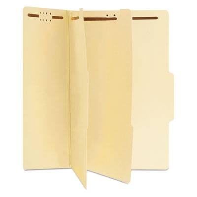 Manila Classification Folders, Legal, Six-Section, 15/box