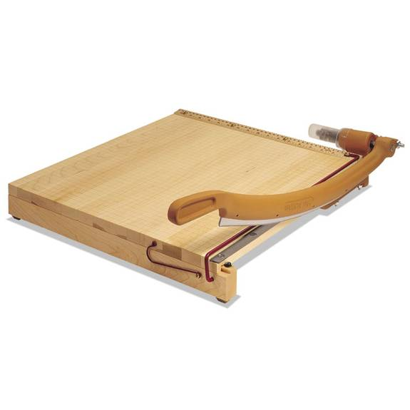 Classiccut Ingento Solid Maple Paper Trimmer, 15 Sheets, Maple Base, 30 X 30