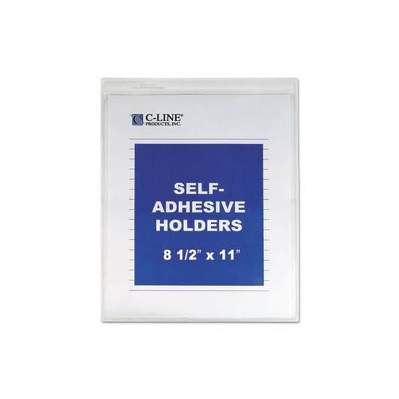 "Self-Adhesive Shop Ticket Holders, Heavy, 15"", 8 1/2 X 11 (1EA)"