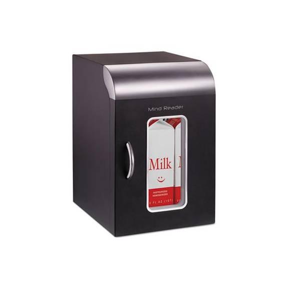 Cube Mini Coffee Station Refrigerator, 0.21 Cu. Ft, Black W/chrome Handle