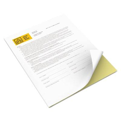 Vitality Multipurpose Carbonless Paper, Two-Part, 8 1/2 X 11, Canary/white