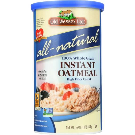 Old Wessex Oat Meal - No Salt - 16 oz - case of 12