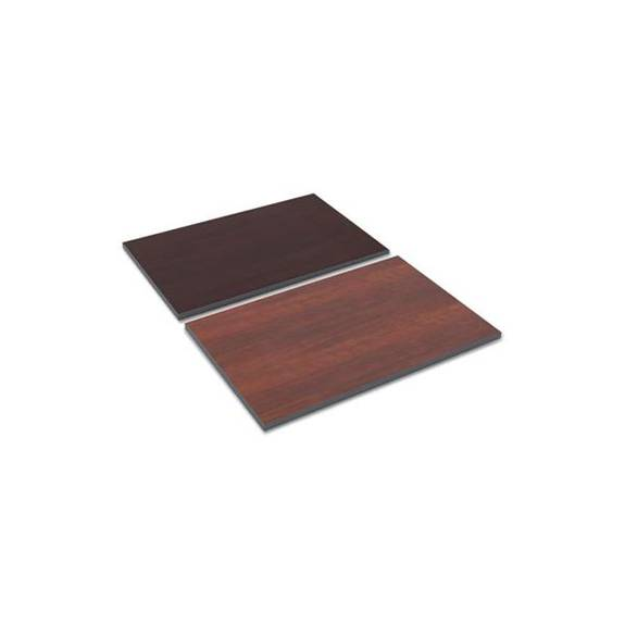 Reversible Laminate Table Top, Rectangular, 36w X 24d, Medium Cherry/mahogany