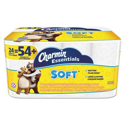 Essentials Soft Bathroom Tissue, 2-Ply, 4 X 3.92, 200/roll, 24 Roll/pack