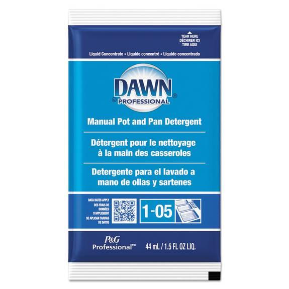 Manual Pot/pan Dish Detergent, Original Scent, 1.5 Oz Packet, 120/carton