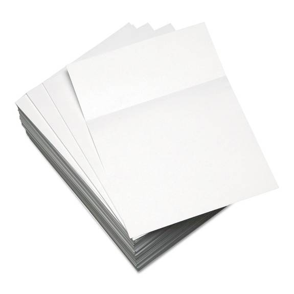 Custom Cut-Sheet Copy Paper, 20 Lb, 8 and half inch X 11 inch, White, 500 Sheets per rm