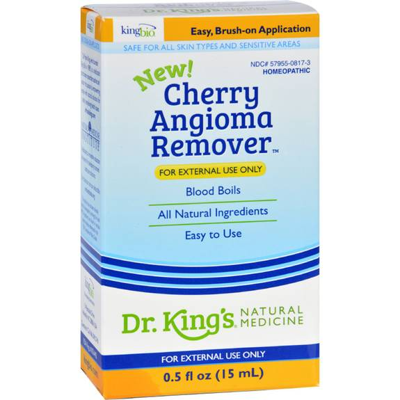 King Bio Homeopathic Cherry Angioma Remover - .5 oz