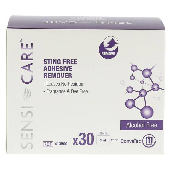 Sensi-Care Sting Free Adhesive Remover Wipe, Fragrance And Dye Free (30/Box)