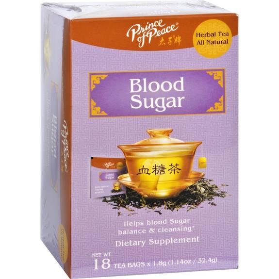 Prince of Peace Tea - Herbal - Blood Sugar - 18 Bags