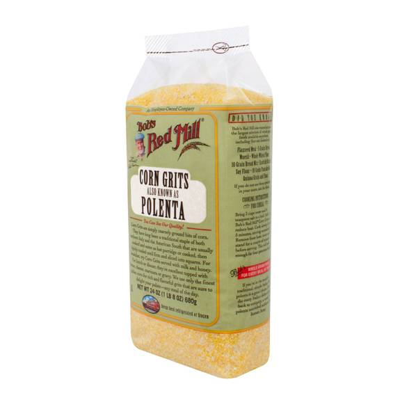 Bob's Red Mill Corn Grits / Polenta - 24 oz - Case of 4
