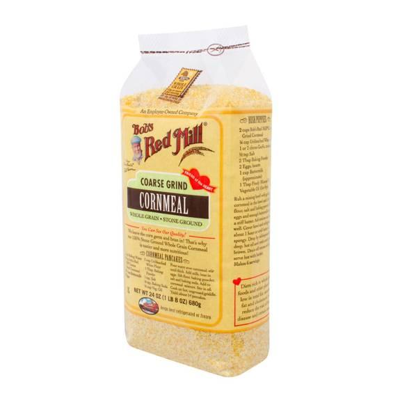 Bob's Red Mill - Coarse Grind Cornmeal - 24 Oz - Case Of 4