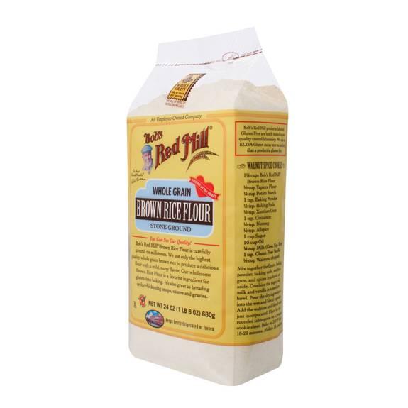 Bob's Red Mill - Gluten Free Brown Rice Flour - 24 Oz - Case Of 4