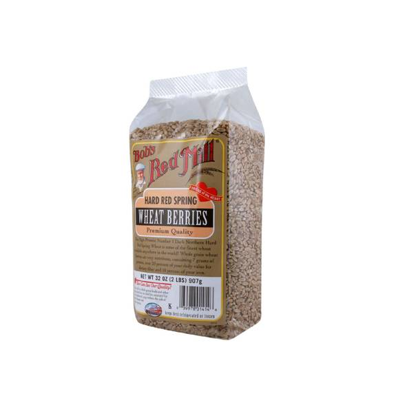 Bob's Red Mill Hard Red Spring Wheat Berries - 32 Oz - Case Of 4