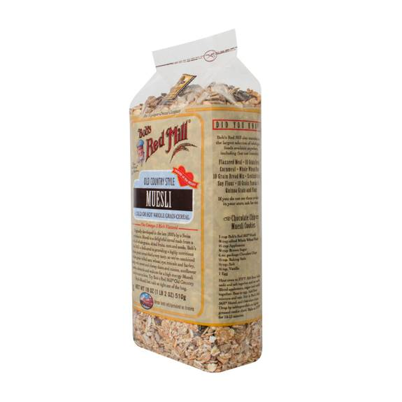 Bob's Red Mill Old Country Style Muesli Cereal - 18 Oz - Case Of 4