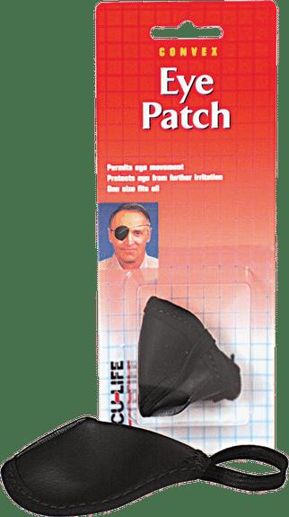 Acu-Life Vinyl Eye Patch Universal, Black Part No. 400013 Qty 1