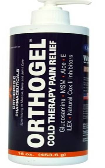 Orthogel Cold Therapy, 16 Oz. Pump Bottle Part No. 4125 (1/ea)