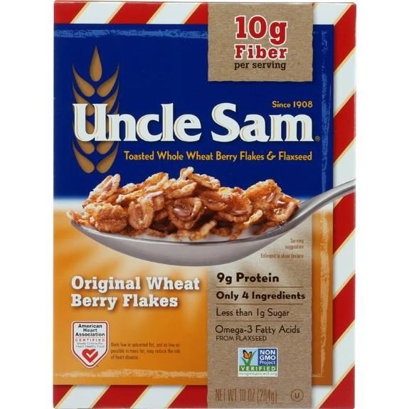 Uncle Sam Cereal Cereal - Original - 10 oz - case of 12