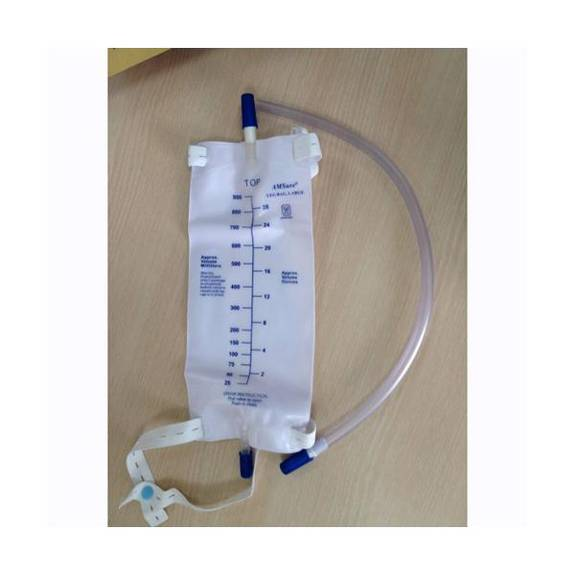 AMSINO Leg Bag Kit with Extension Tube (1/Ea)