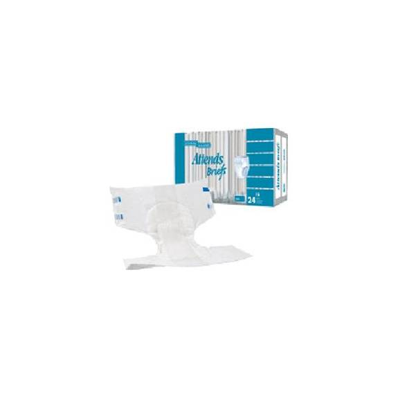 """Attends Disposable Poly Brief Medium 32"""" - 44"""" (96/Case)"""