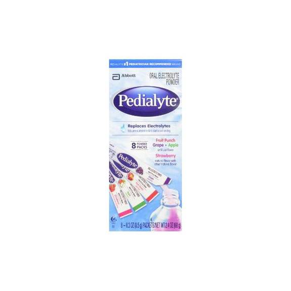 Pedialyte Powder Pack 4 Flavor Variety 0.3 Oz Stick, 8 Oz. (64/Case)
