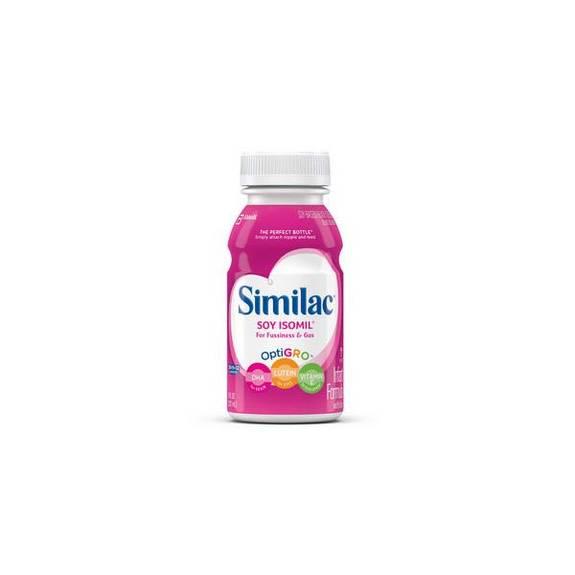 Isomil advance w/iron rtf retail 8oz. bottle part no. 5860178 (1/ea)