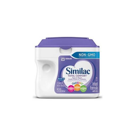 Similac Total Comfort Infant (638 Gram) Powder, Unflavored Part No. 63012 (1/ea)