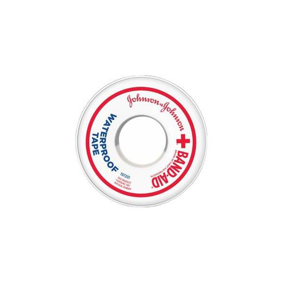 "Johnson & Johnson Waterproof Adhesive Tape 1"" X 10 Yds. (1/Each)"
