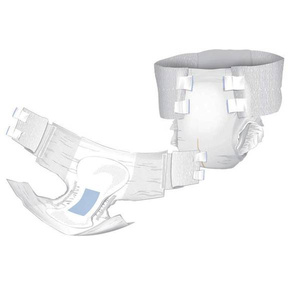 """Cardinal Premium Bariatric Brief, XX-Large, up to 95"""", 300 lbs Plus  REPLACES ZRBARB10 Part No. BBAR01 Qty  Per Package"""