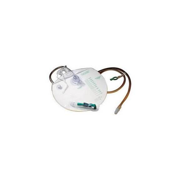 Urinary Drainage Bag with Anti-Reflux Chamber 2,000 mL Part No. 154102 Qty 1