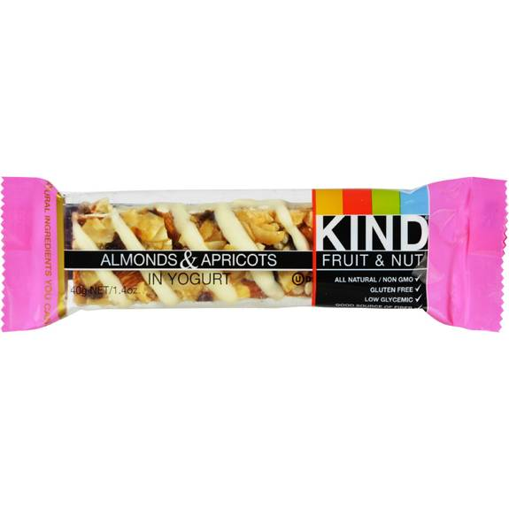 Kind Bar - Almond and Apricot with Yogurt - Case of 12 - 1.6 oz
