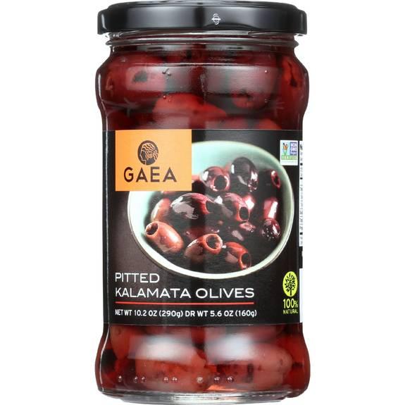 Gaea Olives - Kalamata - Pitted - 5.6 oz - case of 8