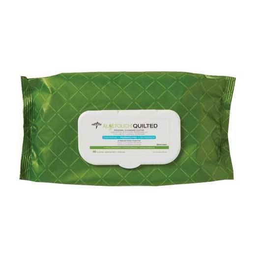 Aloetouch Quilted Personal Cleansing Wipes Part No. MSC263625 Qty  Per Package