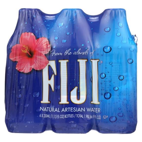 Fiji Natural Artesian Water 16 9 Fl Oz Pack Of 24 Bottles: Fiji Natural Artesian Water Artesian Water
