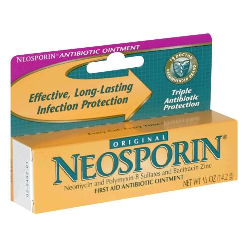 Neosporin Antibiotic Ointment, 0.5 Oz. Part No. 23734 (1/ea)