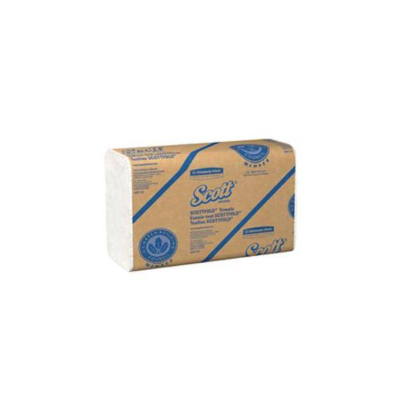 "Scott Scottfold M Towel 7-21/25"" X 12-2/5"", White Part No. 01960 (175/package)"